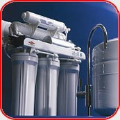 Картинка. Установка фильтра очистки воды в квартире, коттедже или офисе в Дзержинске