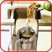 Картинка. Установка измельчителя пищевых отходов в квартире, коттедже или офисе в Дзержинске